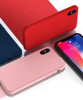 iPhone X Kuori Silikoni